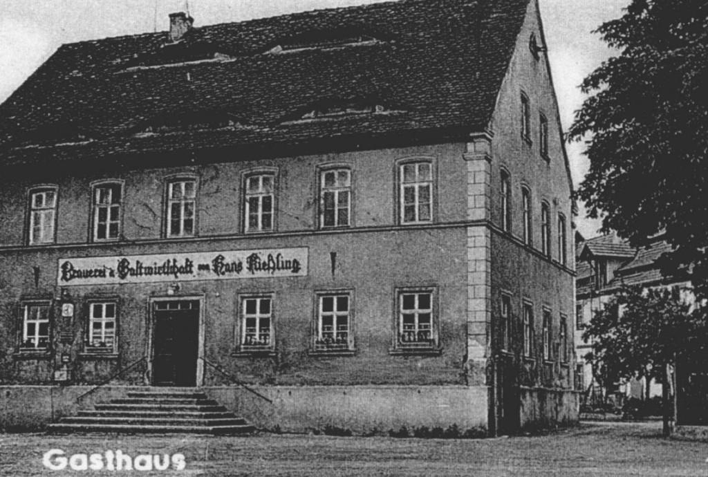 AK Kießling Gasthaus 1960