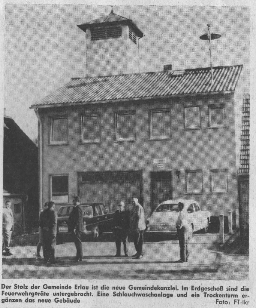 Gemeindehaus 1970