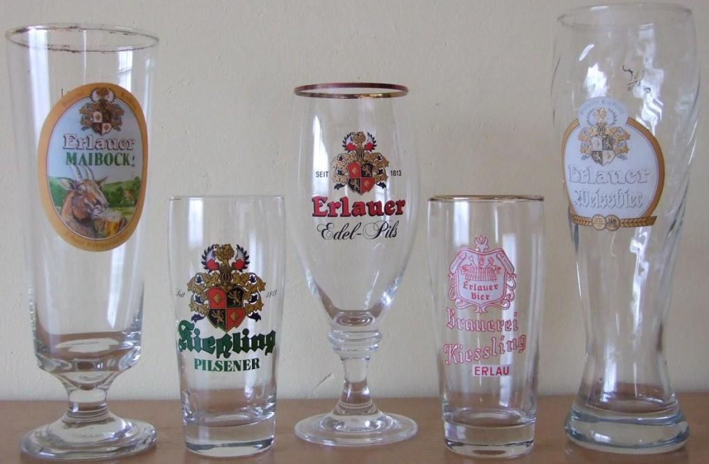 Kiesling Gläser